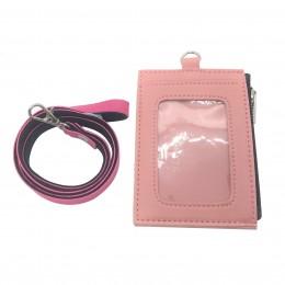 ID Card Wallet - Pastel Pink