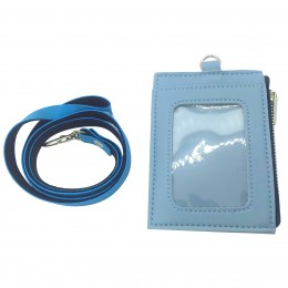ID Card Wallet - Pastel Blue