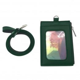 ID Card Wallet - Dark Green