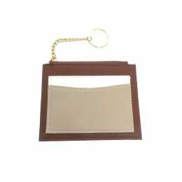 Stacie Coin Wallet - Brown